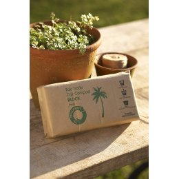 Traidcraft Coir Compost Block - 650g