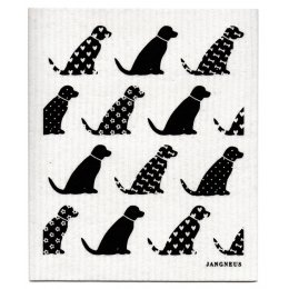 Jangneus Design Cloths - Black - Pack of 4