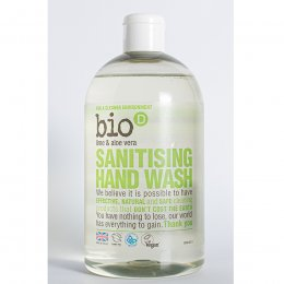 Bio D Sanitising Hand Wash - Lime and Aloe Vera - 500ml