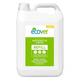 Ecover Washing Up Liquid Refill - Lemon and Aloe Vera - 5 litre
