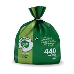Traidcraft Fair Trade Everyday One Cup Catering Tea - 440 Bags