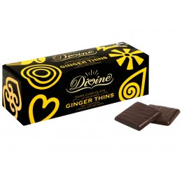 Divine Dark Chocolate After Dinner Ginger Thins 200g