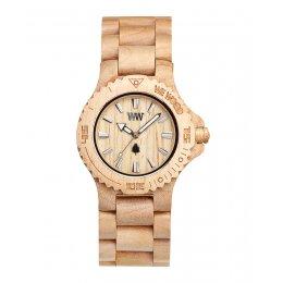 WeWOOD Date Beige Wooden Watch