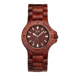 WeWOOD Date Brown Wooden Watch