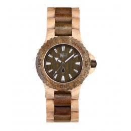 WeWOOD Date Beige/Army Wooden Watch