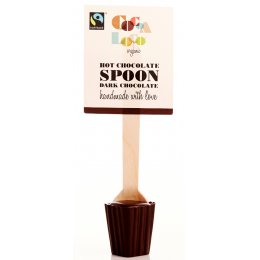Cocoa Loco Hot Chocolate Spoon - Dark - 30g