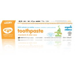 Green People Childrens Toothpaste - Mandarin - 50ml