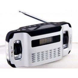 PowerPlus Lynx Dynamo & Solar powered Radio & Flashlight test