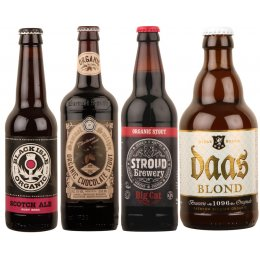 Organic Strong and Dark Beers - Case of 20