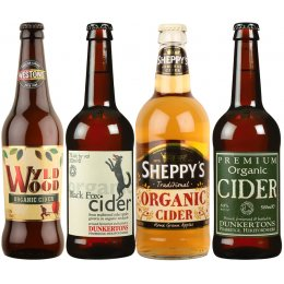 Organic Mixed Ciders - Case of 20