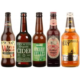 Organic Mixed Beer & Ciders - Case of 20