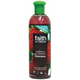 Faith In Nature Shampoo - Raspberry and Cranberry - 400ml