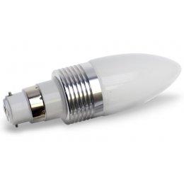 B22-240 Lumilife LED Bayonet Light Bulb 3 Watt (40W Equivalent)