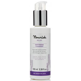 Nourish London Relax Softening Cleanser - Lavender - 100ml