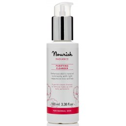Nourish Radiance Purifying Cleanser - Rose - 100ml