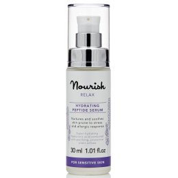 Nourish London Relax Hydrating Peptide Serum - Lavender - 30ml