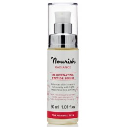 Nourish London Radiance Rejuvenating Peptide Serum - Rose - 30ml