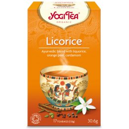 Yogi Organic Licorice Tea - 17 Bags