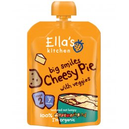 Ellas Kitchen Big Smiles Cheesy Pie - 130g