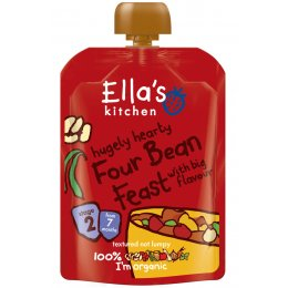 Ellas Kitchen Four Bean Feast 130g
