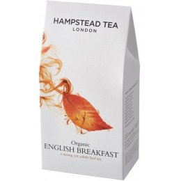 Hampstead Tea Organic English Breakfast Tea - Loose Leaf - 100g