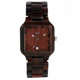 WeWOOD Metis Chocolate Wooden Watch