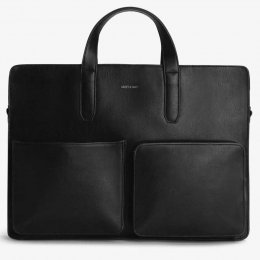 Matt & Nat Vegan Soren Briefcase - Black