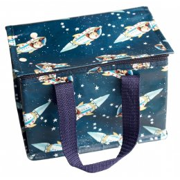 Recycled Lunch Bag Spaceboy
