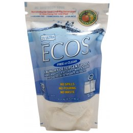 Earth Friendly Ecos Laundry Powder Pods