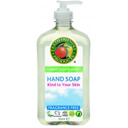Earth Friendly Liquid Hand Soap Fragrance Free - 500ml