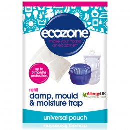 Ecozone Room Damp, Mould & Moisture Trap Refill Pouch