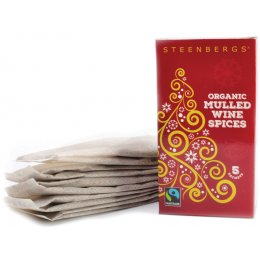 Steenbergs Organic & Fairtrade Mulled Wine Sachets - Pack of 5