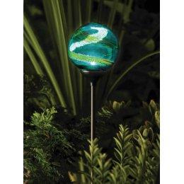 Solar Powered Murano Globe Light