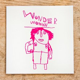 Arthouse Meath Charity Wonder Woman Card
