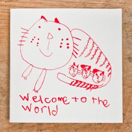 Arthouse Meath Charity Welcome to the World Card