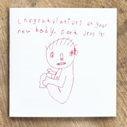 ARTHOUSE Unlimited Charity Congratulations On Your New Baby Card