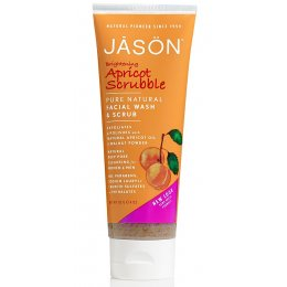Jason Apricot Brightening Face Wash & Scrub - 128ml