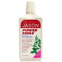 Jason Powersmile Brightening Peppermint Mouthwash - 480ml