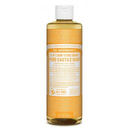 Dr Bronner Organic Liquid Castile Soap - Citrus - 473ml