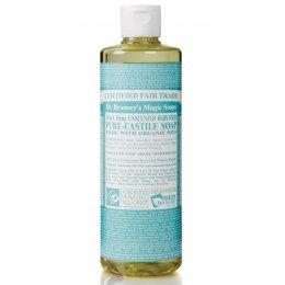Dr Bronner Organic Liquid Castile Soap - Baby Mild Unscented - 473ml