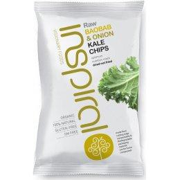 Inspiral Kale Chips Baobab/Onion 30g