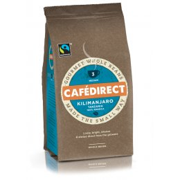 Cafedirect Kilimanjaro Gourmet Coffee Beans - 227g