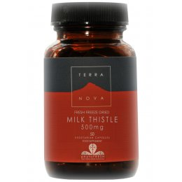 Terranova Milk Thistle 500mg  - 50caps