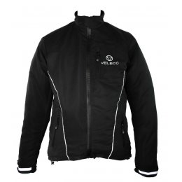 Veleco Re:cycle Softshell Cycling Jacket - Black