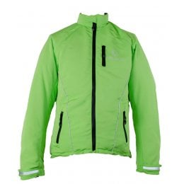 Veleco Re:cycle Softshell Cycling Jacket - Lime Green