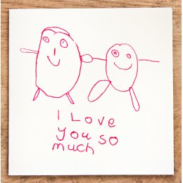 Arthouse Meath Charity I love You So Much Card