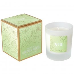 No 2 Clary Sage & Green Tea Soy Candle