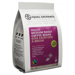 Equal Exchange Medium Roast Coffee Beans 227g