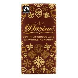 Divine Milk Chocolate with Almonds - 100g test