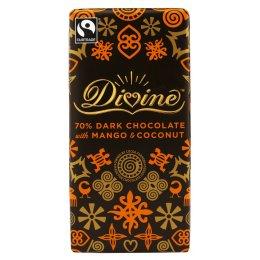 Divine Dark Chocolate with Mango & Coconut - 100g test
